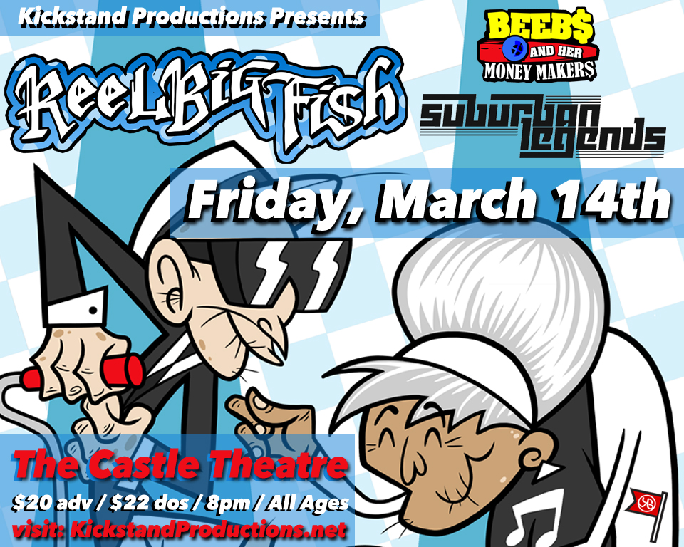 A music blog yea ticket giveaway reel big fish the for Big fish musical soundtrack