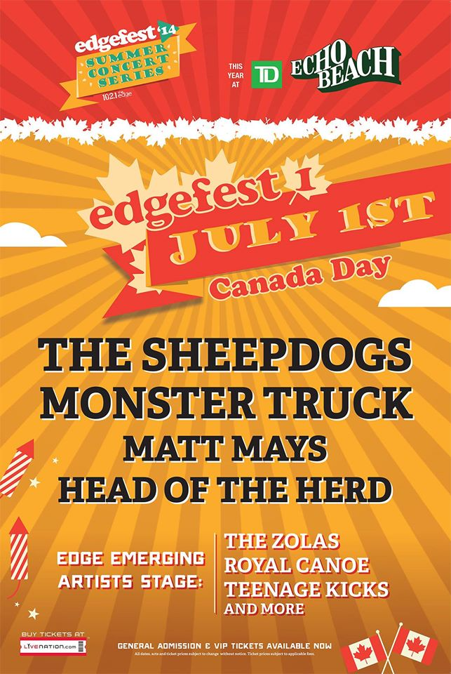 Edgefest July 1st