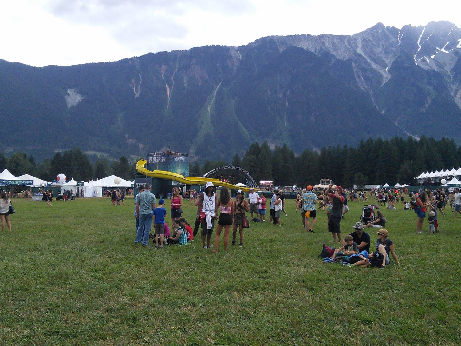 PembyFest Waterslide