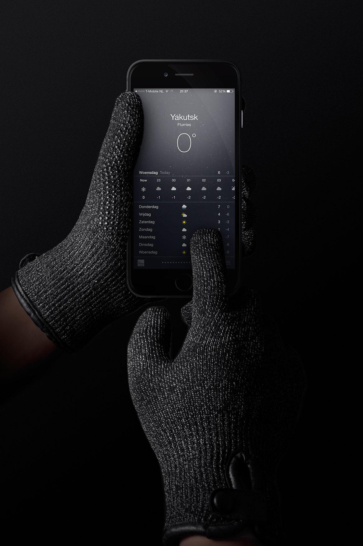 Mujjo Refined Touchscreen Gloves