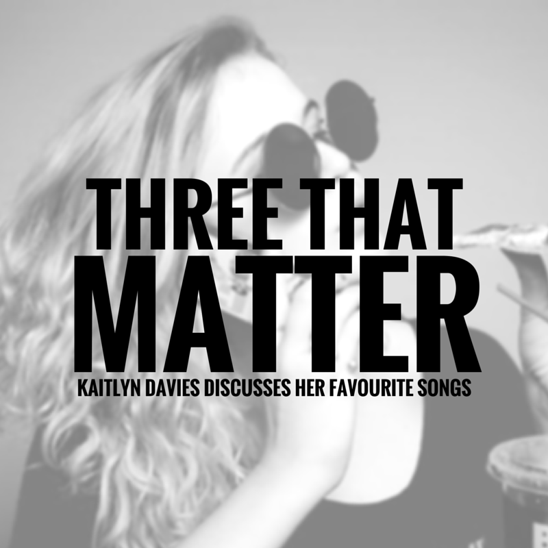 Three That Matter | Kaitlyn Davies