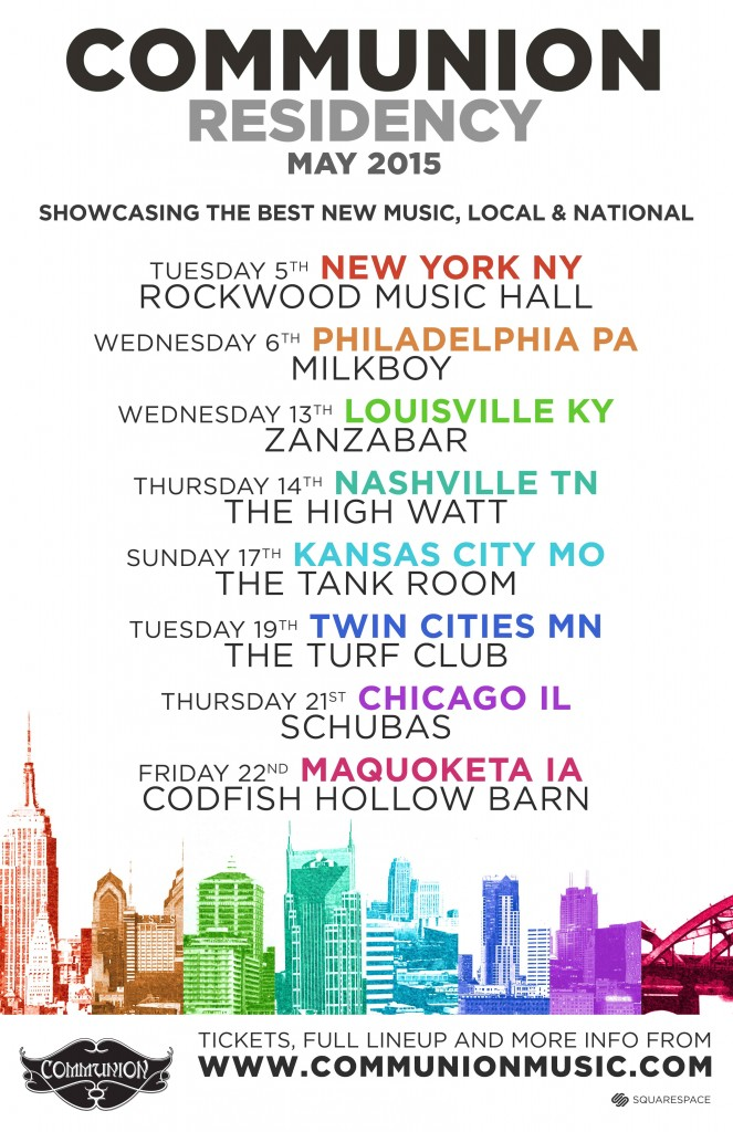 Residency Tour | May