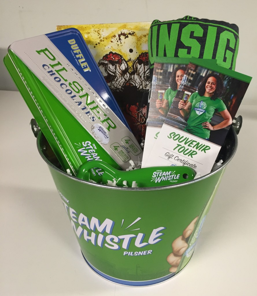 Steam Whistle Unsigned Prize Pack
