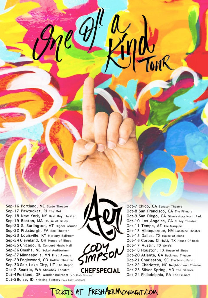 Aer Tour Dates