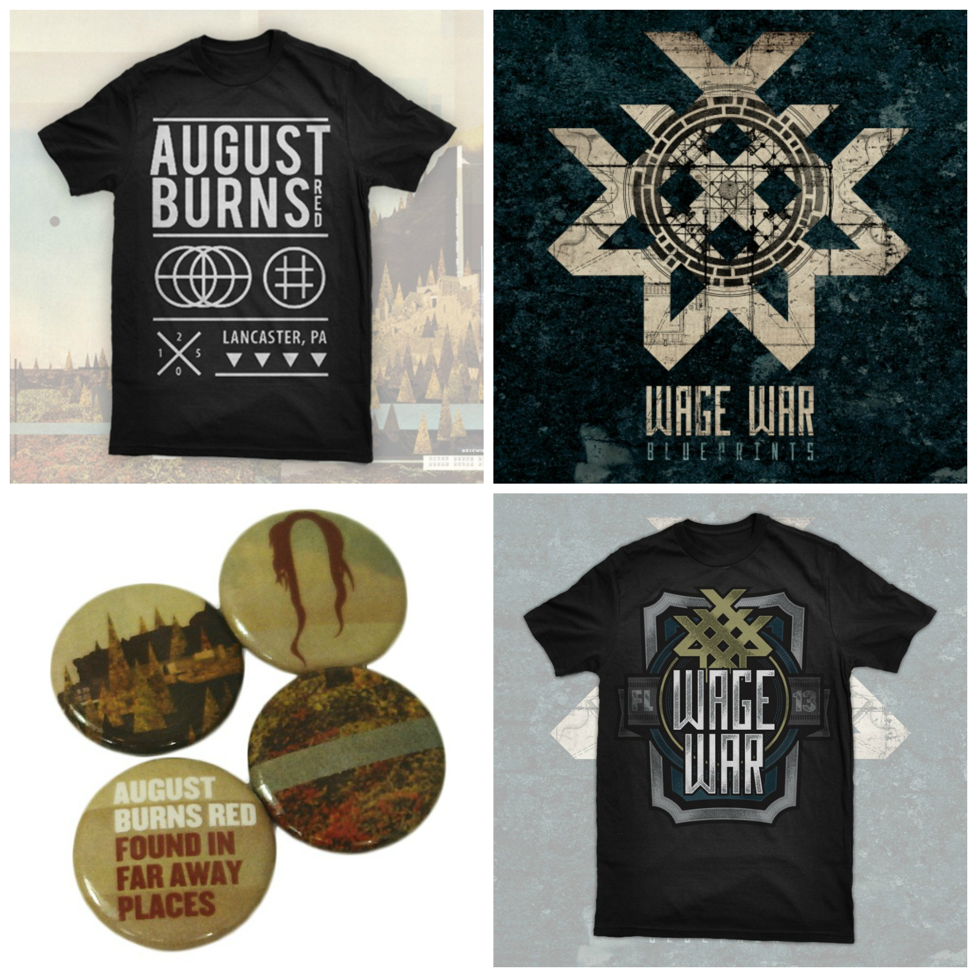 August Burns Red prize pack
