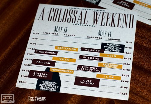 A Colossal Weekend 2016