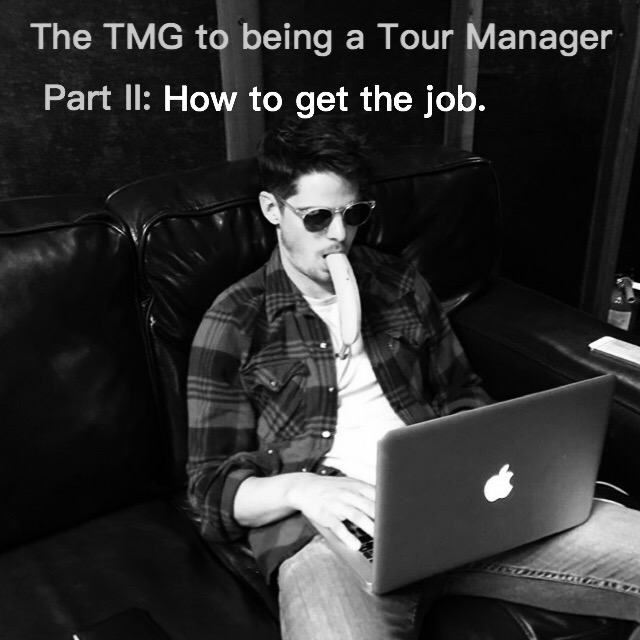 Tour Manager's Guide