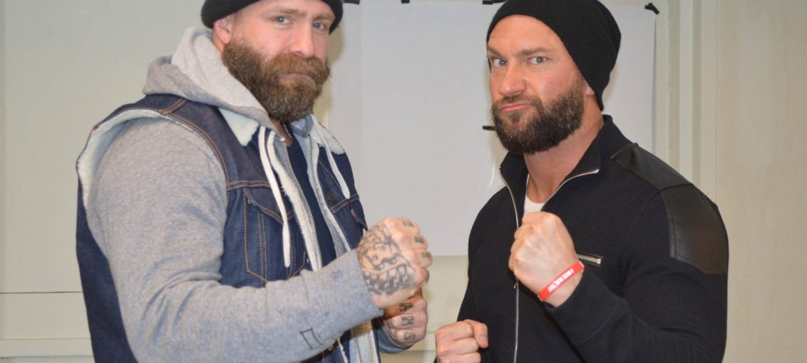 Braxton Sutter and Andy Williams