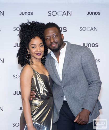Amanda Parris and Odario Williams