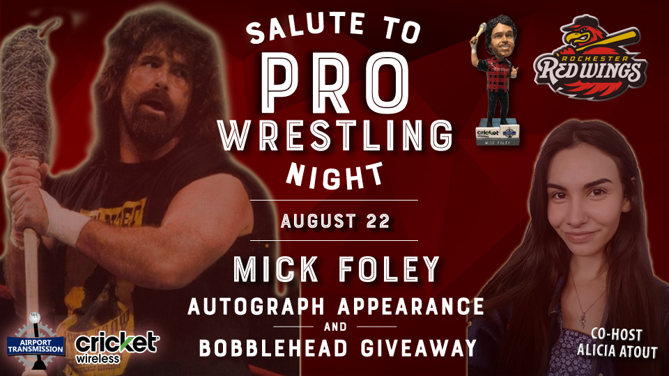Mick Foley x Salute to Pro Wrestling Night